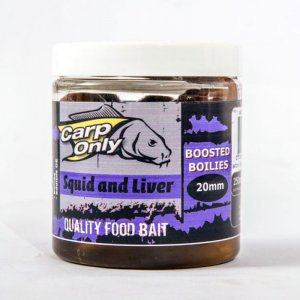 Dipovaný boilies Carp Only Squid & Liver 250ml