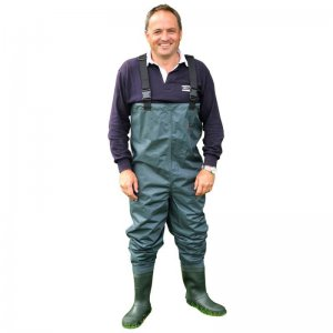 Prsačky Shakespeare Sigma Nylon PVC Chest Wader Cleated Sole vel. 9