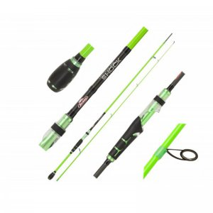 Přívlačový prut Berkley Lighting Shock Green Spin M 2,40m 10-35gg